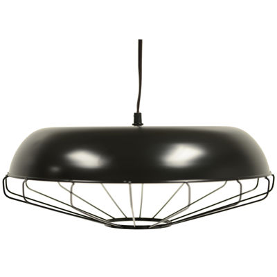 Décor Therapy Bronze Caged Pendant Light