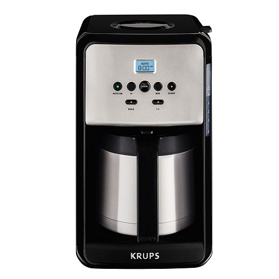 Krups®, Savoy, ET351050, Programmable Thermal Filter Coffee Machine, Black