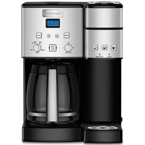 Cuisinart ® Coffee Center™ 12 Cup Coffeemaker And Single-Serve Brewer