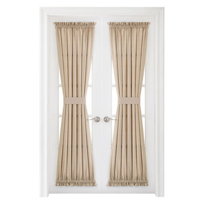Royal Velvet Supreme Rod-Pocket Door Panel Curtain