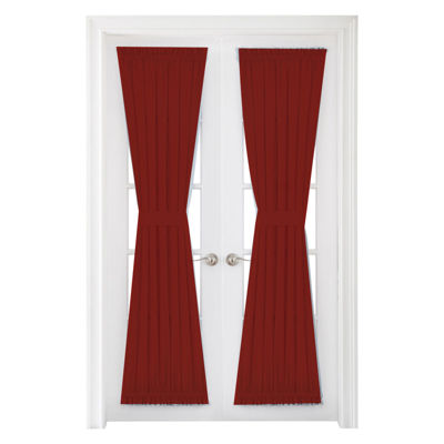 Royal Velvet Supreme Energy Saving Rod-Pocket Door Panel Curtain