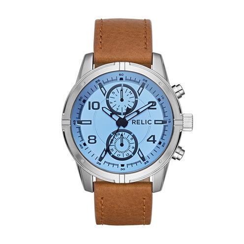 Relic Womens Two Tone Bracelet Watch-Zr15923