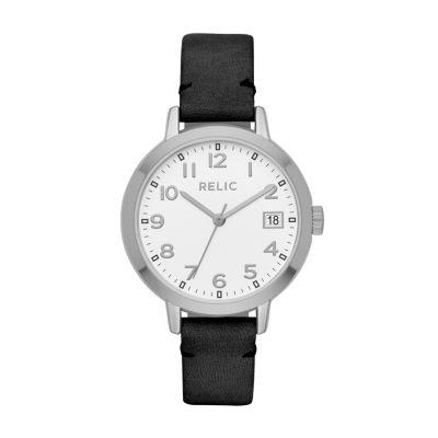 Relic Womens Black Strap Watch-Zr12214