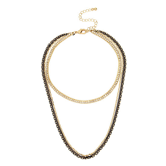 Nicole By Nicole Miller 15 Inch Choker Necklace
