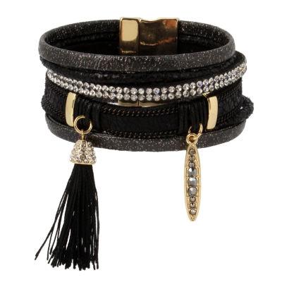 Nicole By Nicole Miller Womens Wrap Bracelet