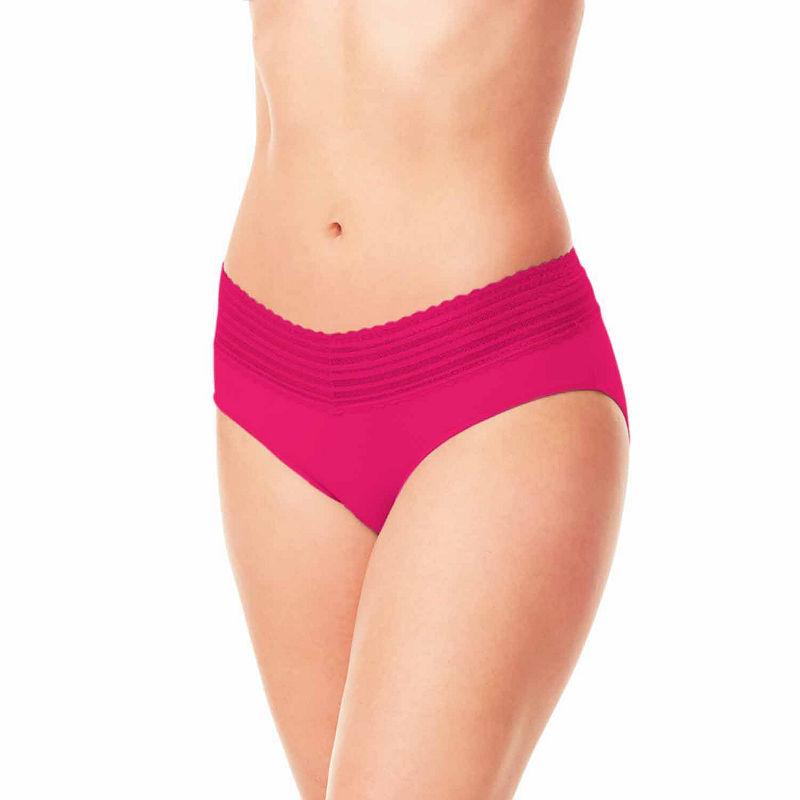 645068cd5570 ... Warner's No Pinching, No Problems. Lace-Trim Hipster Panties - 5609.  UPC 608926303863