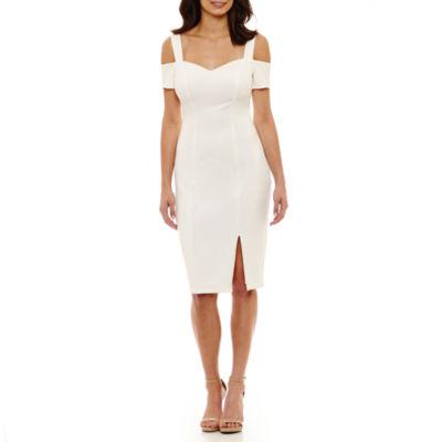 Rebecca B Sleeveless Sheath Dress