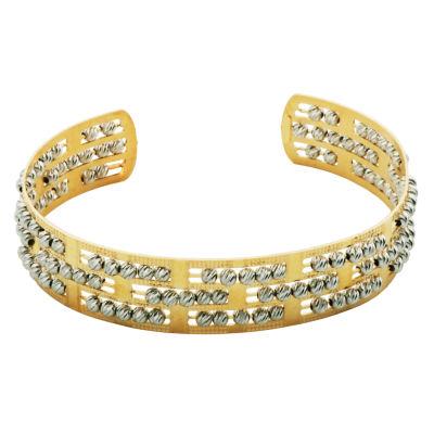 Womens 10K Cuff Bracelet