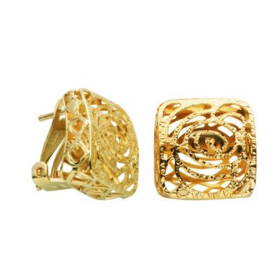 10K Gold Stud Earrings