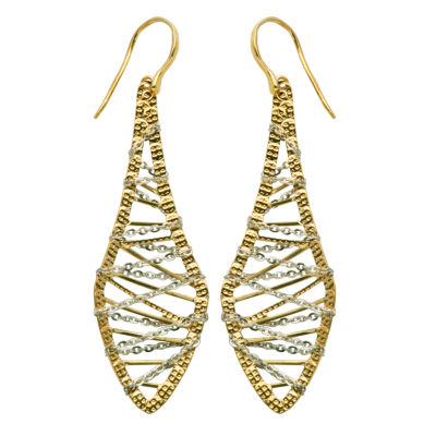 10K Gold Drop Earrings
