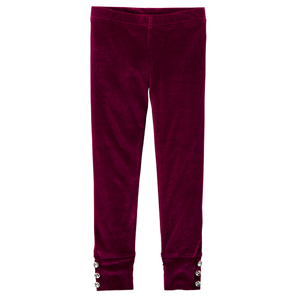 Carter's Velvet Velvet Leggings - Preschool Girls