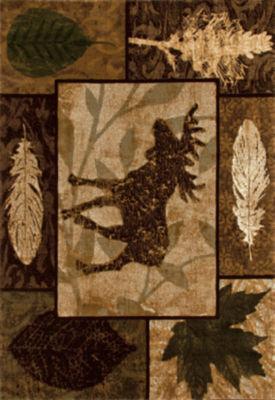 Art Carpet Cabin Moose Creek Woven Rectangular Rugs