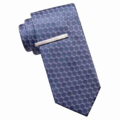 JF J.Ferrar Geometric Tie