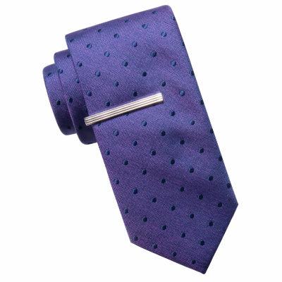 JF J.Ferrar Dots Tie