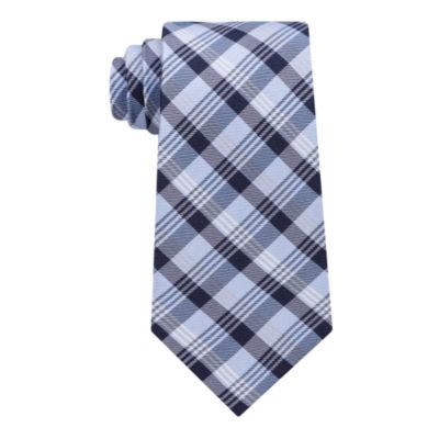 Stafford Stafford Super Shirt 1 Spinner Plaid Tie