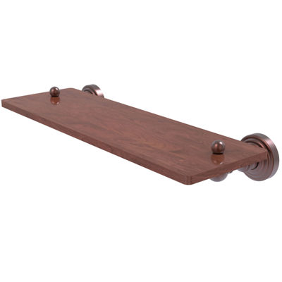 Allied Brass Waverly Place Collection 16 IN SolidIpe Ironwood Shelf