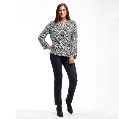 La Cera Brushed Sweater Knit Top