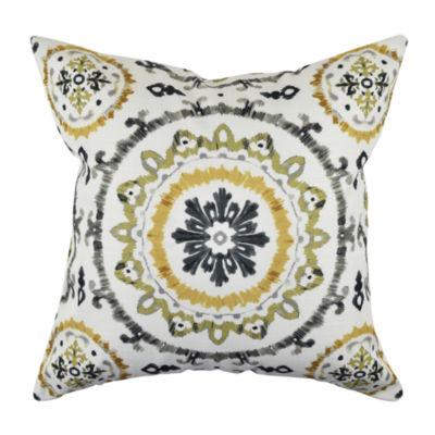 Bold Moroccan Woven Throw Pillow