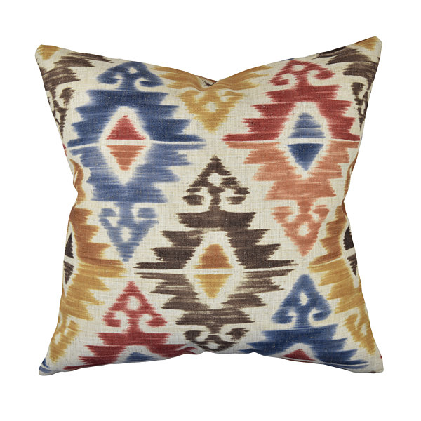 Bold Multicolor Aztec Throw Pillow - JCPenney