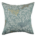 Delicate Birds and Branches Throw Pillow