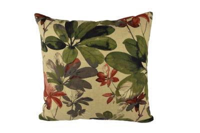 Elegant Pastel Floral Outdoor Throw Pillow
