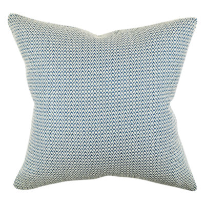 True Modern Pillows : Modern Blue Chevron Throw Pillow - JCPenney