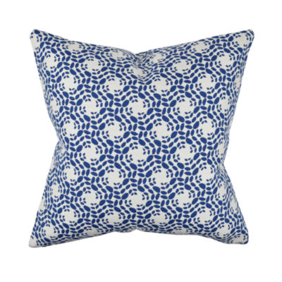 True Modern Pillows : Modern Blue Circular Designer Throw Pillow - JCPenney