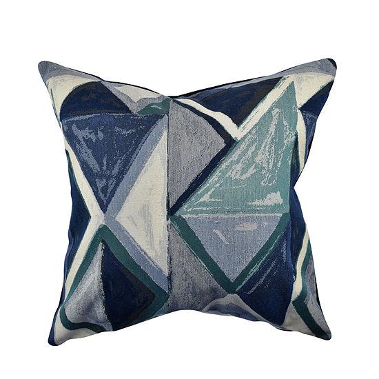 Vesper Lane Angular Jacquard Throw Pillow