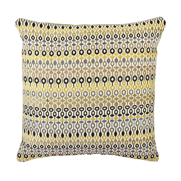 Vesper Lane Bead and Reel Pattern Throw Pillow