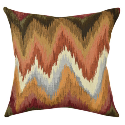 Vesper Lane Bohemian Chevron Throw Pillow