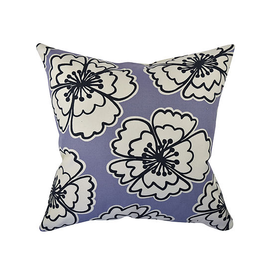 Vesper Lane Bold Blooms Throw Pillow