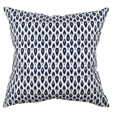 Vesper Lane Bold Blue Modern Ogee Throw Pillow - JCPenney