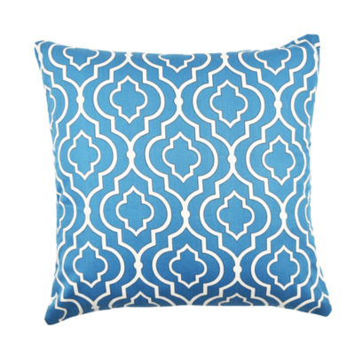 Vesper Lane Bright Blue Moroccan Inspired Throw Pillow - JCPenney