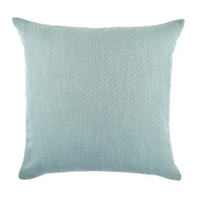 Vesper Lane Chevron Matelassé Designer Throw Pillow