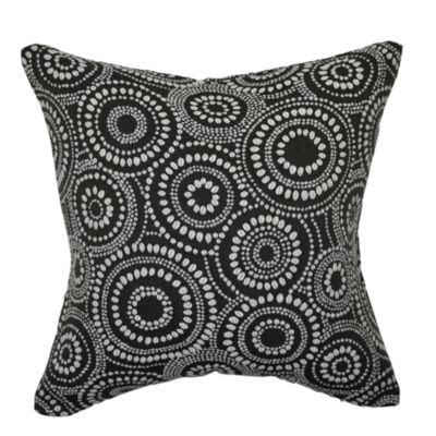 Vesper Lane Circle Link Dotted Throw Pillow