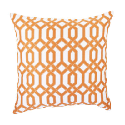 Vesper Lane Circle Link Inspired Throw Pillow