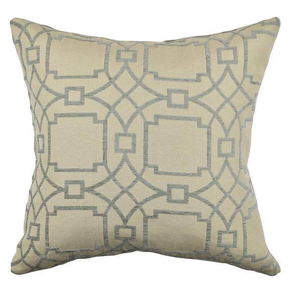 Vesper Lane Circle Link Throw Pillow