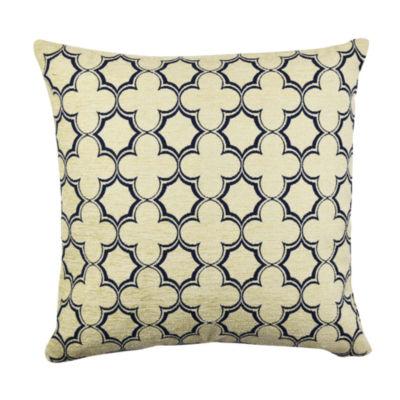 Vesper Lane Classic Quartrefoil Throw Pillow