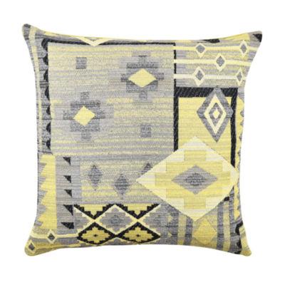 Vesper Lane Contemporary Aztec Throw Pillow