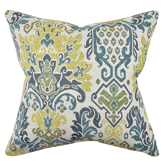 Vesper Lane Damask Throw Pillow