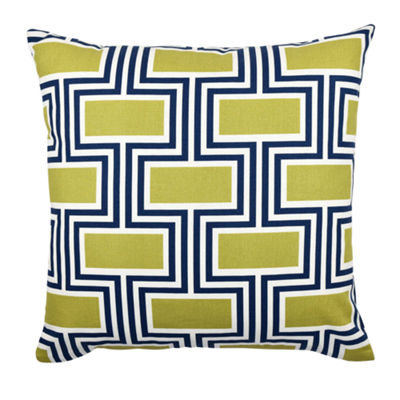 Vesper Lane Geometric Pattern Designer Throw Pillow