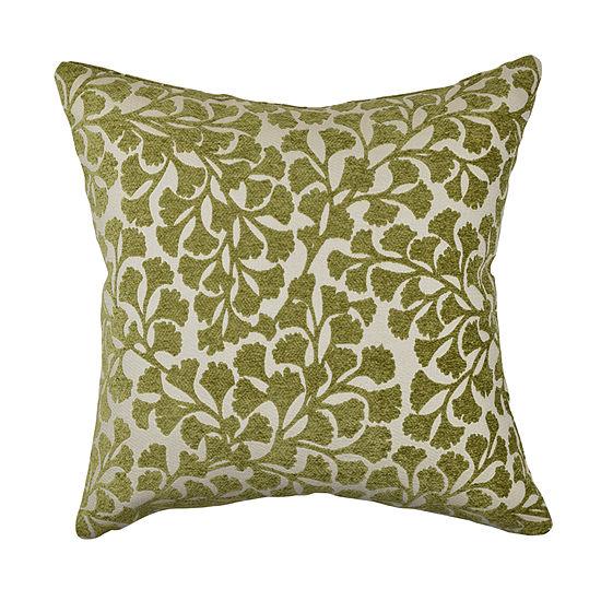 Vesper Lane Ginkgo Leaf Designer Throw Pillow