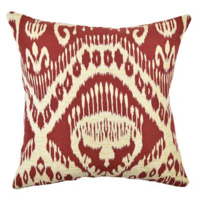 Vesper Lane Ikat Design Throw Pillow