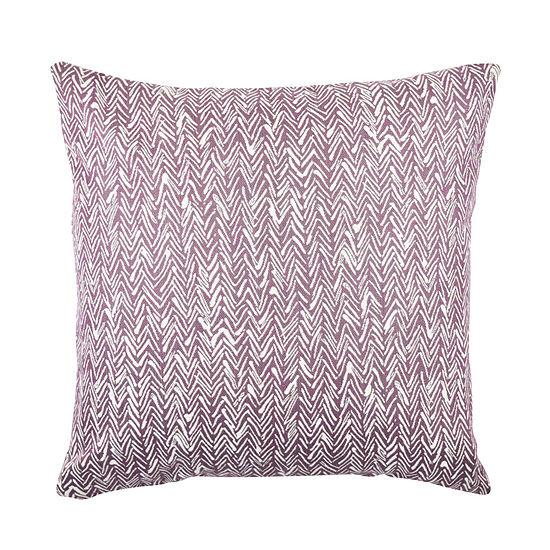 Vesper Lane Modern Abstract Purple Pine Throw Pillow