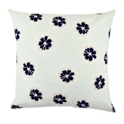 Vesper Lane Modern Flower Designer Throw Pillow
