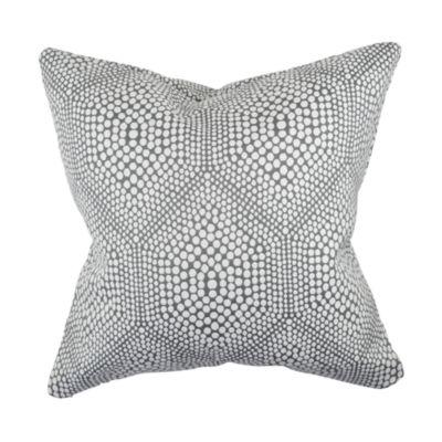 Vesper Lane Modern Polka Dot Woven Throw Pillow