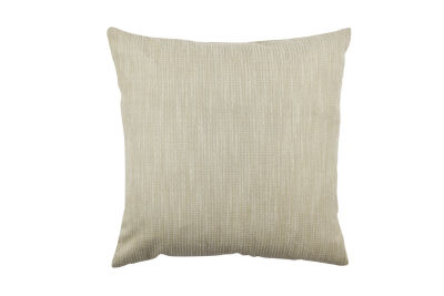 Vesper Lane Neutral Cream Chenille Designer Throw Pillow