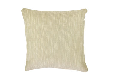 Vesper Lane Neutral Tan Chenille Designer Throw Pillow