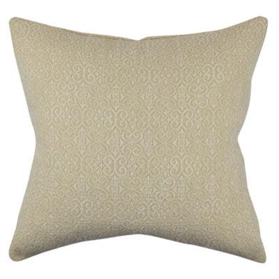 Vesper Lane Neutral Vintage Motif Throw Pillow