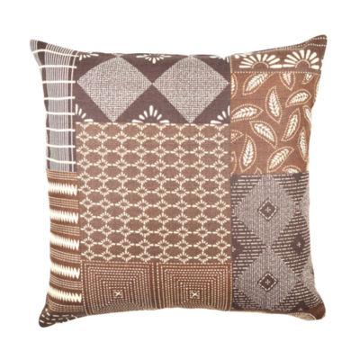 Vesper Lane Quilt Inspired Designer Throw Pillow